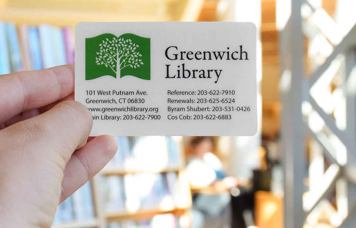 Greenwich Library Card