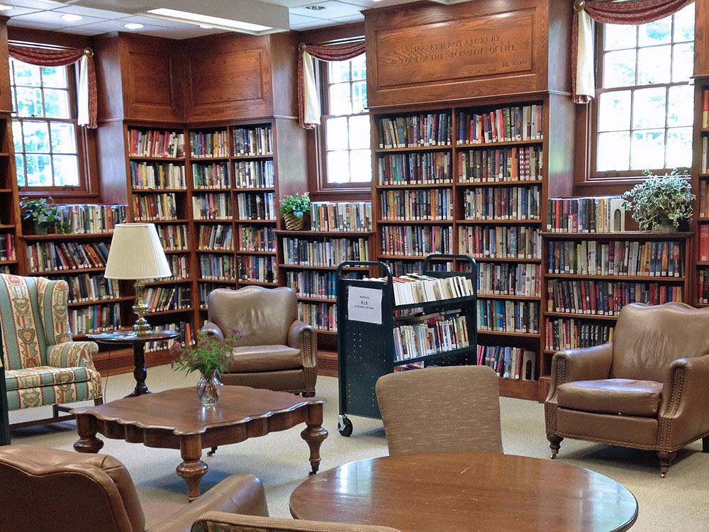 Perrot Library Reading Room